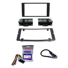 Radio Dash Mount Kit 2-Din w/Harness/Antenna Fits Chrysler/Dodge/Jeep Non-Nav