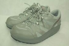 MBT SWISS BLUE/GRAY TONING SHAPE UP RUNNERS SNEAKERS SIZE M7/W9US/40EU VGC!