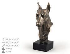 Miniature Pincher, Hundemarmorstatue Büste, ArtDog, DE