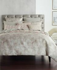 Hotel Collection SPECKLE Full/Queen Duvet Comforter Cover Beige Pale Pink