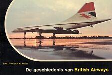 DE GESCHIEDENIS VAN BRITISH AIRWAYS - Bart van der Klaauw