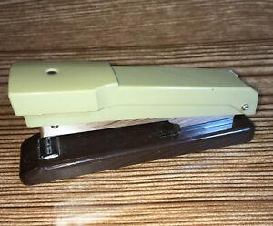 "Rexel Compaq Stapler 4-3/4"" L , Brown /Tan - Made in Great Britain"