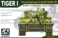 AFV Club 1/48 AF48002 WWII German Tiger I Ausf.E Sd.Kfz.181 (EARLY VERSION)