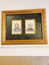 Ulysses S Grant And Robert E Lee Portrait ESTATE FIND MAKE A FAIR OFFER GONE