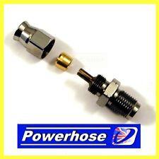 Compression fitting M10 x 1mm male hose end concave seat suit -3 hose 3/20100MHC