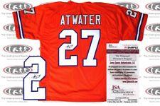 Steve Atwater Signed Custom Denver Jersey JSA Witnessed