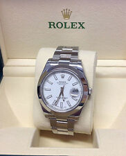 Rolex Stainless Steel Band Men's Wristwatches