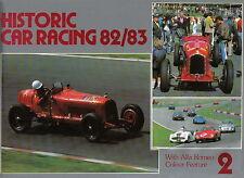 Historic Car Racing No 2 1982/83 inc. Alfa Romeo full colour feature + Circuits