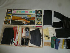 BOXED MARX SKY DRIVER JUMP ROAD RACE SET SLOT CARS 1/32 SCALE VINTAGE 22755 INDY