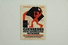 Giesserei Fach Ausstellung München, Reklamemarke / SB 11