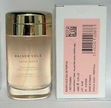 Cartier Baiser Vole 3.3 oz/100 ml Edp Spray For Women New Testr In Box.