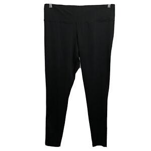 Champion Women's Active Athletic Yoga Leggings Pants Black Size 2X