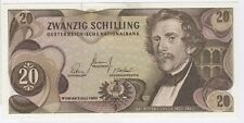 More details for 1967 austria 20 schilling note | bank notes | pennies2pounds