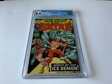MARVEL SPOTLIGHT 14 CGC 9.4 WHITE PAGES SON OF SATAN HELL MARVEL COMICS 1974
