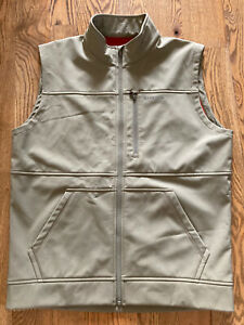 Rare Simms Fishing Vest Tan Large Fly Fishing Products Outdoors Fish Hike NWOT