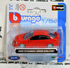 MITSUBISHI LANCER EVOLUTION 1:64 (7,5 cm) Model Toy Car Diecast Models Die Cast