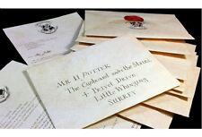 Acceptance Letter Harry Potter Hogwarts Envelope Purchasing List + 9 3/4 Ticket