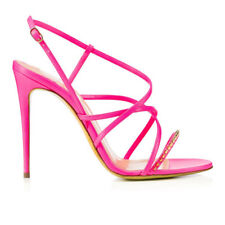 Summer Shoes Sexy Women Open Toe High Heel Sandals  Rivets Decoration Stiletto