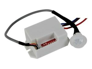 Mini PIR Motion Detection with Automatic Day and Night Identification Velleman