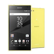 Sony Ericssion XPERIA Z5 Compact E5823 23MP 32GB 3G 4G LTE Cellphone (Amarillo)
