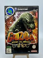 Godzilla Destroy All Monsters Melee Nintendo Gamecube PAL *Complete*