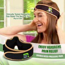 Acuband Massage Head Pain Relief Wrap Headband Reduce migraine Headache Pain