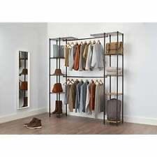 Expandable Closet Organizer Storage Shelves Clothes Shelf System Wardrobe Bronze