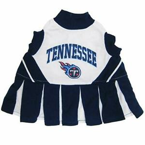 Pet's First Tennessee Titans NFL Officially Licensed Dog Cheerleader Pet Dress