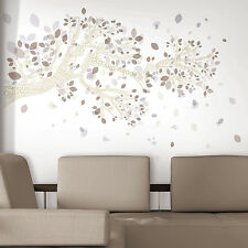 """WORDS OF LIFE TREE 29""""x55"""" WALL DECALS Quotes Branches Stickers Deco Home Decor"""