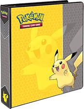 """Pokemon Pikachu 3Ring Binder Card Album, 2"""""""