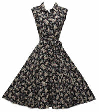 Abbigliamento vintage nera per donna taglia 48