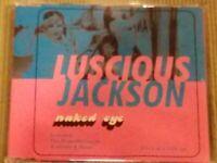 LUSCIOUS JACKSON NAKED EYE RARE 4 TRACK IMPORT REMIX CD SINGLE FREE SHIPPING