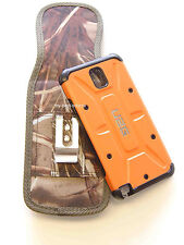 (A10) Belt Clip Cover/Holster Samsung Galaxy Note 3/III FOR UAG Case On - Oak