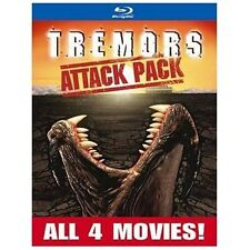 Tremors 4 Movie Collection (Blu-ray Disc, 2013, 2-Disc Set)