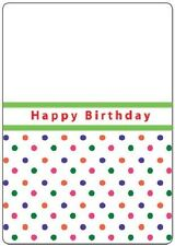 Crafts Too A6 Embossing Folder HAPPY BIRTHDAY CTFD3007