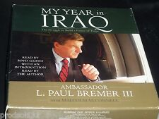 CDA My Year in Iraq: The Struggle to Build a Future of Hope (2006 6-CD's)