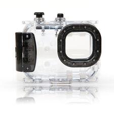 Seashell SS-2 Underwater 40M 130ft Waterproof Camera Housing Case BLACK SS2, NEW