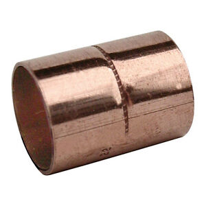 35mm gas copper plumbing pipe/tube end feed coupling