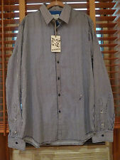 ENERGIE JEAN SESSIN COTTON MEN'S SHIRT ITALY SIZE XXLARGE