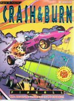 Vintage Crash & Burn Pinball PC Game Boxed New & Factory Sealed 1995 -FREE SHIP