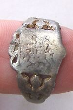 ANCIENT Rome Byzantium Sterling Silver Mens Ring Stamp 5-6 century #AR589-593