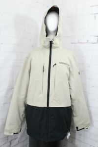 686 Smarty 3-in-1 Form Snow Jacket, Mens Large, Putty Colorblock New 2022
