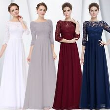 Prom 3/4 Sleeve Regular Size Dresses for Women