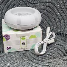 New Scentsy Mini Fan Diffuser Air Freshener USB GRAY Color
