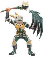 Bully Medieval Fantasy DRAGON SKULL KNIGHT WARRIOR Figure Figurine Bullyland HTF