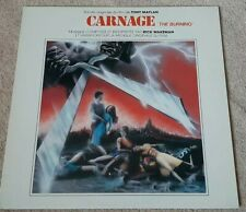 CARNAGE SOUNDTRACK VINYL LP - 1981 - RICK WAKEMAN - THE BURNING - RARE