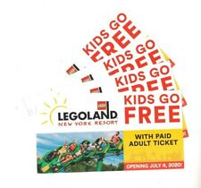 6 x LEGOLAND BUY1 ADULT & GET 1 CHILD ADMISSION FREEE Coups (Canada & US)