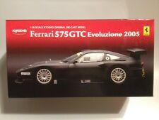 1:18 Ferrari 575GTC Evoluzione 2005 Black 08392 Kyosho