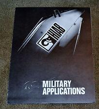 VTG 1970s Advertising Hiab Foco Military Applications Cranes Loaders N