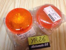 Yamaha 4H7-83312-00 Xv 535 XJ 650 750 .. x2 cabochon clignotant turn signal lens